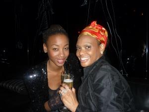 Singer Charmaine Bingwa and Stylist Lenya Jones