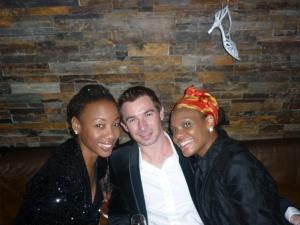 Singer Charmaine Bingwa & Stylist Lenya Jones