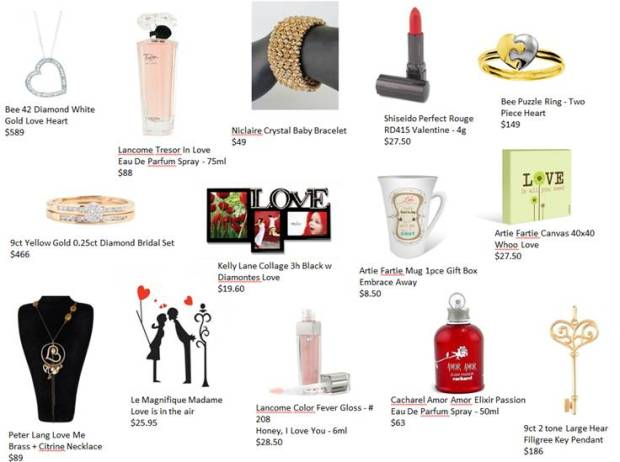 Fashionable Valentine Gift Ideas from Grays Outlet